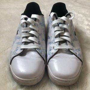 Lacoste Men's White & Blue Sneakers Size 11